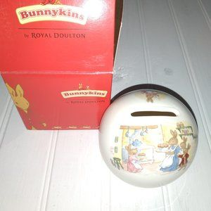 Royal Doultan Bunnykins money ball